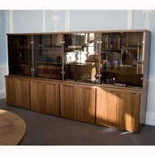 wooden display cabinet with glass doors office display case wooden executive display cabinet