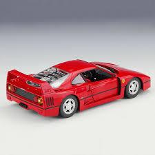 Ferrari f40 lm / competizione continuation. Bburago Bburago 1 24 Diecast Metal Model Red Ferrari F40 Racing Car New In Box