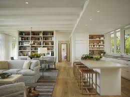 Kitchen And Living Room Kitchen Pretty Open Living Room And Kitchen Designs With White