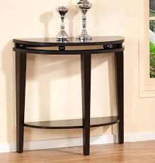 half round accent table grey half moon console table accent table lamps