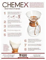 Shop our recommended coffee and equipment. Chemex Brewing Instructions