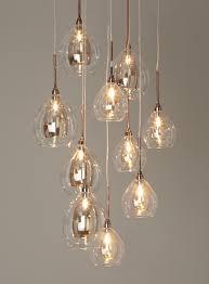 ceiling lighting for living room. bhs illuminate atelier carmella 10 light cluster glass and copper ceiling for the dining room chandelier lighting living d