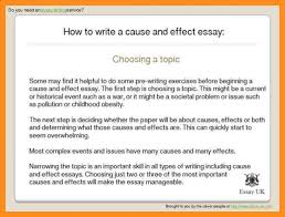 how to start a cause and effect essay examples of cause and effect write a cause and effect essay agenda example write a cause and effect essay how to