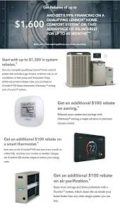 lennox smart thermostat. lennox hvac rebates and financing offers smart thermostat