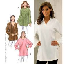 Tunic Top Patterns Enchanting KwikSew Pattern Tunics