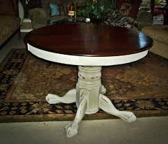Round Distressed Wood Kitchen Tables Types Of Wood