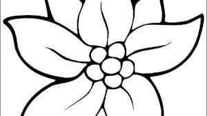 Spring Flowers To Color Spring Flowers Coloring Pages Printable