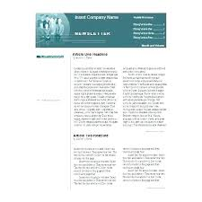 Microsoft Word Newspaper Template Microsoft Office Newspaper Template Companydata Co
