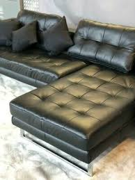 dwell vienna leather right hand corner