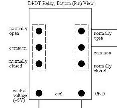 dpdt switch wiring diagram wiring diagram and hernes how to connect a dpdt relay in circuit