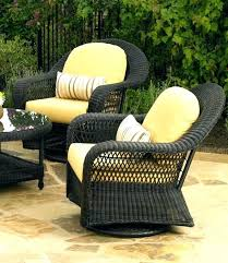 wicker swivel rocker patio chairs sterling home woodland dining