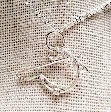 bluebird handmade silver pendant necklace