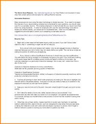 6 Summary Of Qualifications Examples Write Memorandum