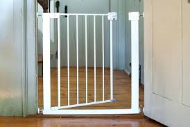 baby gates for large openings a pressure fit gate installed in doorway diy baby gates