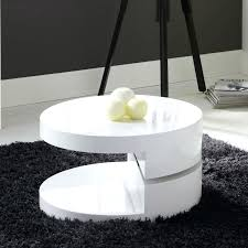 white gloss coffee table round high gloss white round rotating top coffee table white gloss coffee table with led lights