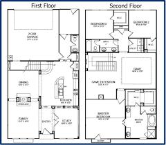 simple two y house floor plan simple 2 story floor plan house planning intended for simple house floor plans