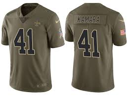 Saints 41 Olive To Kamara Salute Jersey Service 2017 Alvin Limited