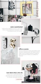 office feng shui tips. Shop: Black Grid Mood Board | Rainbow Quartz Shungite Pyramid Pink Velvet Desk Chair. Fashionlush How To Feng Shui Office Tips
