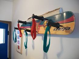 Snowboard Coat Rack Awesome Snowboard Coat Rack French Cleat Hanging System Hat Rack élan