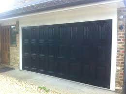 how much to paint a garage door single black garage door white aluminum capping on the how much to paint a garage door