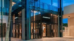 Panerai Magnificent Furniture Stores Miami Design District