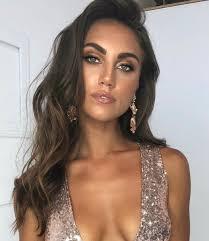deborahpraha bronze makeup look