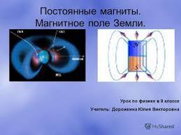 Презентация на тему Магнитное поле Земли Скачать бесплатно и  Магнитное поле Земли Урок по физике в 8 классе Учитель Дорожкина