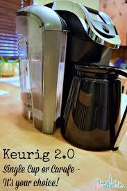 Coffee Maker Carafe And Single Cup Keurig 20 Coffee Maker Cup Or Carafe Miscfinds4u