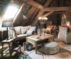 Ambiance grenier avec Textile Editeur http://www.comptoir-de-famille
