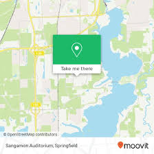 How To Get To Sangamon Auditorium In Springfield By Bus Moovit