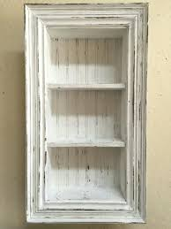 shadow box with shelves antique style wall paint country chic shelf shadow box
