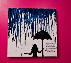 exterior saddest painting picture desaign ideas for canvas with girl bring black umbrella standing under on girl with umbrella wall art with saddest painting picture desaign ideas for canvas with girl bring