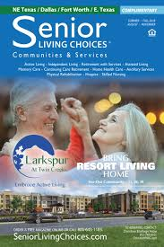 Senior By Design Fort Worth Senior Living Choices Dallas Fort Worth September By
