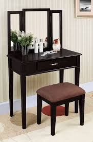 amazon william s home furnishing black tri mirror vanity kitchen dining
