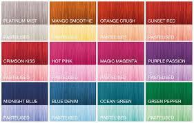 Affinage Colour Dynamics Shades Guide Affinage Colour