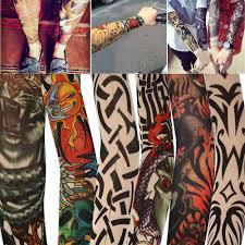 Arm Proteive нейлон эластичный поддельные временные татуировки рука