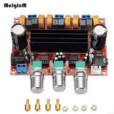 <b>TPA3116</b> 2.1 50Wx2 + <b>100W</b> + Bluetooth <b>Class D</b> Power Amplifier ...