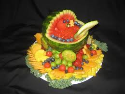 How To Decorate Fruit Tray Fruit Platter Can Say It Baby Shower 86