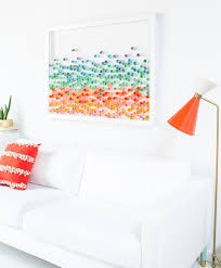 diy paper wall art pic for 26 diy living room decor on a budget