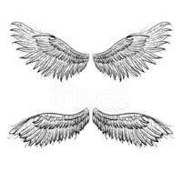 Andělská Křídla Vektorové Ilustrace Vektory Z Knihovny Clipartme