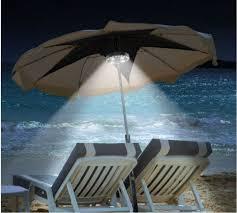 patio umbrella light outdoor cantilever