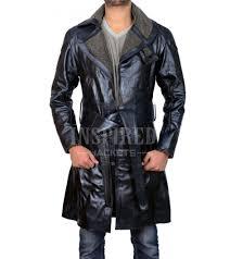 ryan gosling leather shearling coat