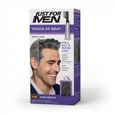 touch of gray hair color just for men