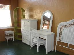 Durable and Stylish White Wicker Bedroom Furniture – Home Designing