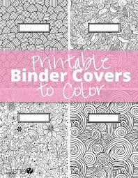 printable colour your own book covers