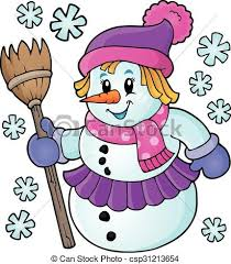 Image result for PICTURE OF A SNOWWOMAN