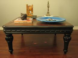 how to paint a coffee table black writehookstudio com