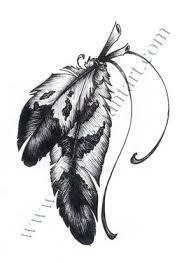 Eagle Feather Dream Catcher Beauteous Great Drawing Sketches Of Eagle Feather Feather Tattoo By Tylly