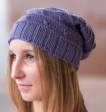 Free Slouch Hat Knitting Patterns Stunning Slouchy Hat Knitting Patterns In The Loop Knitting