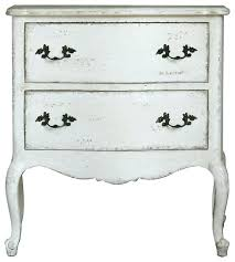 eloquence clementine nightstand in antique white bedside table round tables traditional nightstands and